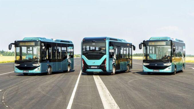 Karsan gana licitación de autobús eléctrico de la ciudad de mangalia en rumania