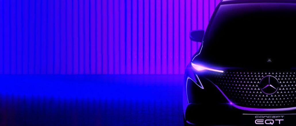 Mercedes benz concept si prepara a entrare in una nuova classe con eqt