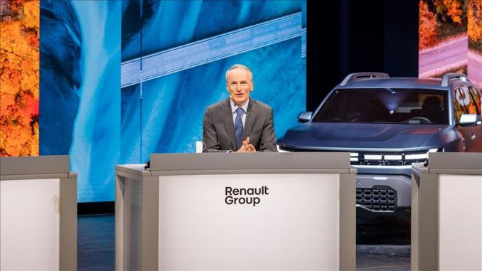 renault group announced its new mission