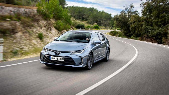 Toyota corolla blev den bästsäljande modellen