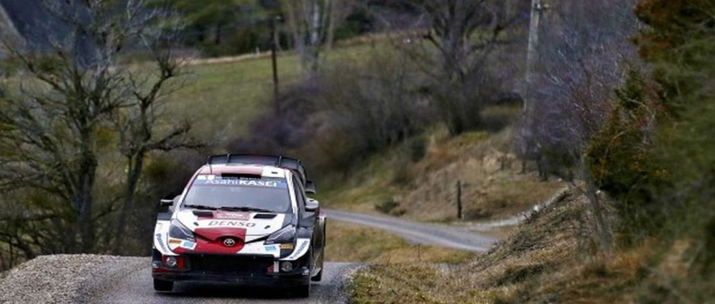 Toyota yaris wrc è pronta per una nuova sfida in croazia