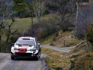 Toyota yaris wrc on Horvaatias uueks katsumuseks valmis