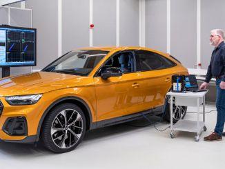 Audi helifilosoofia on tuua autosse akustiline harmoonia.