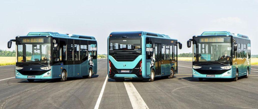 Karsan venceu a licitação do ônibus elétrico em Weilheim, Alemanha