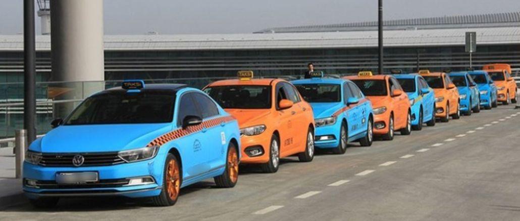 συμφωνία ολοκλήρωσης με οδηγούς ταξί αεροδρομίου