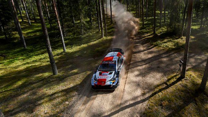 Toyota-föraren rovanpera vinner Estlands rally genom att slå rekord