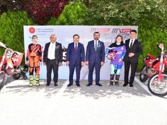 mxgp of turkey's communication sponsor is turksat