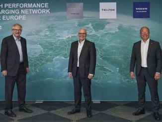 Saradnja tri vodeća svjetska proizvođača komercijalnih vozila u uspostavljanju mreže za punjenje u Evropi