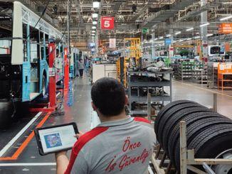 Anadolu Isuzu נושאת את העוצמה והאיכות שלה בייצור לעתיד עם יישום המפעל החכם שלה