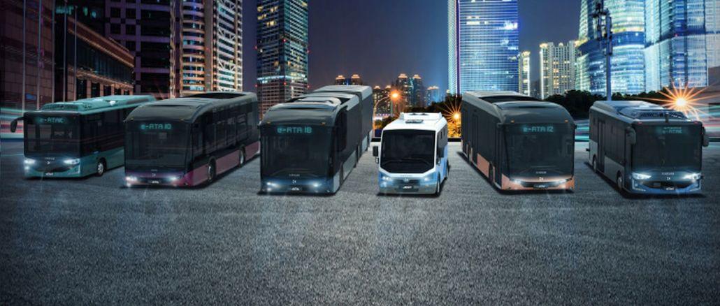 Karsan introduced its new XNUMX% electric model family e-ancestor