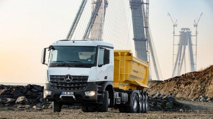 mercedes benz turk 提供卡車服務的新優勢