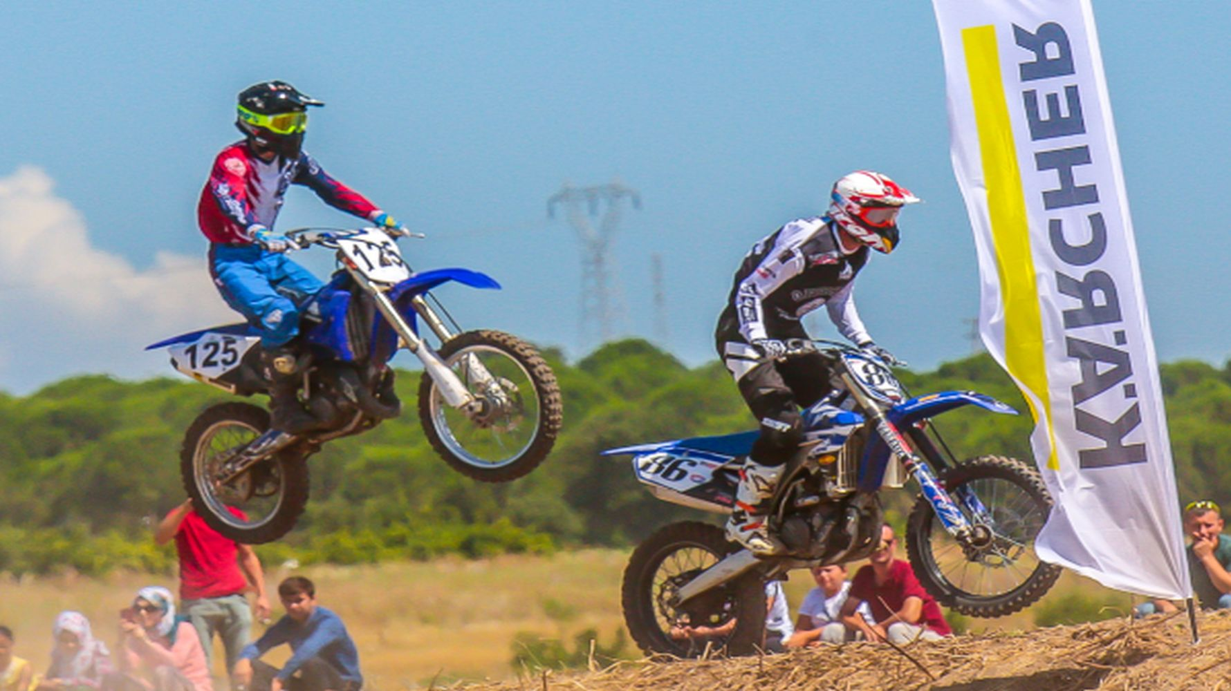became the organization partner of the motocross european and world championships