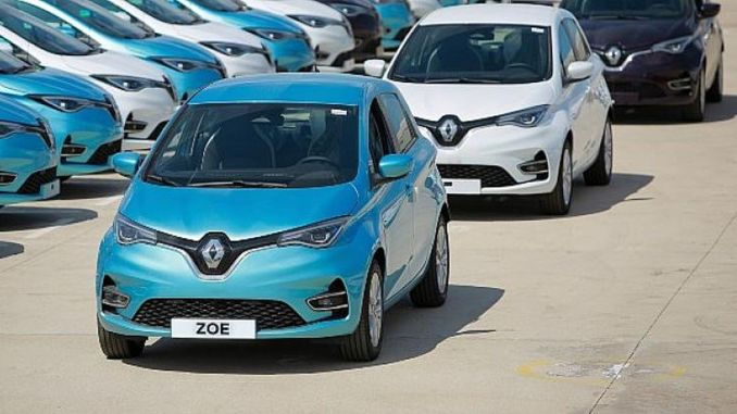 Renault zoe agreement signed between renault mais and tiktak