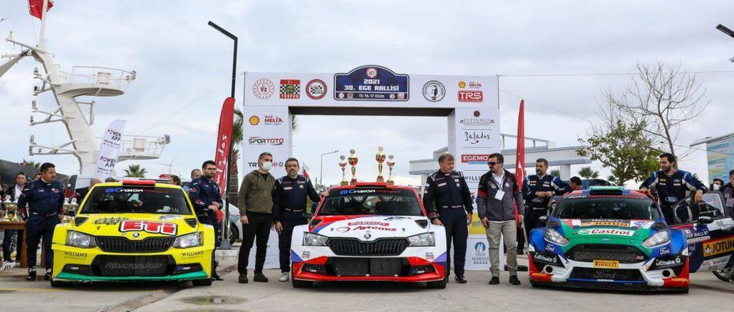 El equipo cukurova bostanci ganó el rally egeo
