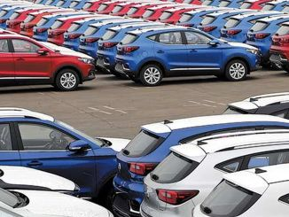 中国汽车月销量突破百万