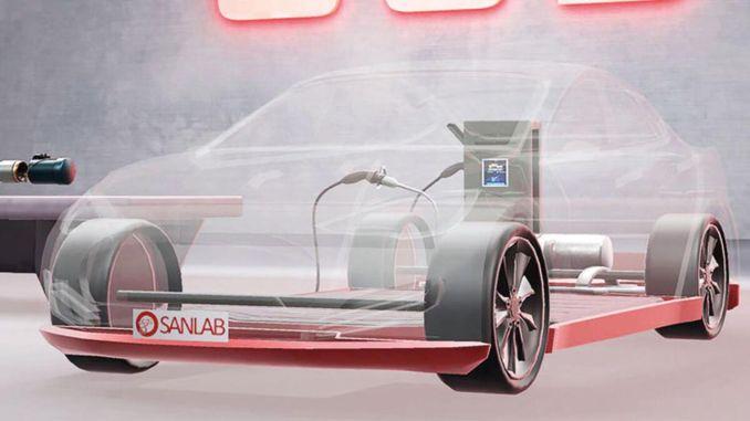 vietinis pagrindinis sprendimas elektromobiliams