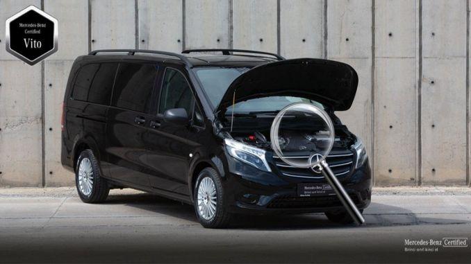 """naujas įkvėpimas iš """"Mercedes Benz"""" į naudotų lengvųjų komercinių transporto priemonių rinką"""