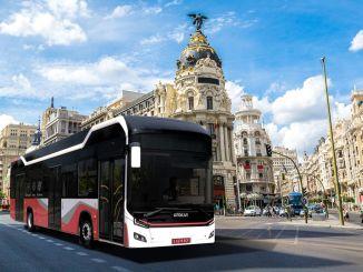 otokarin 电动巴士城市 electra 的欧洲促销活动继续进行