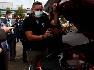 dan električnih vozil taysad je bil prvi v seriji dogodkov