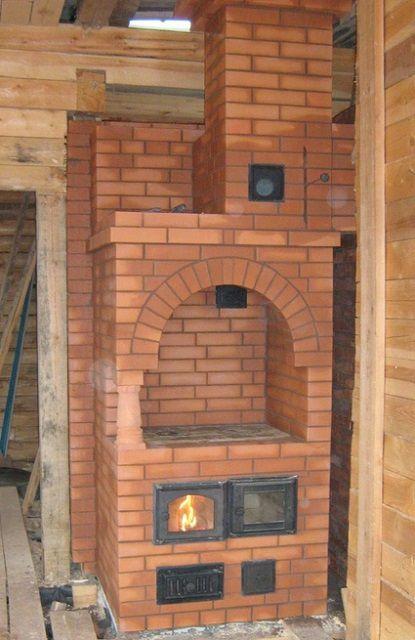 加熱および調理炉の例