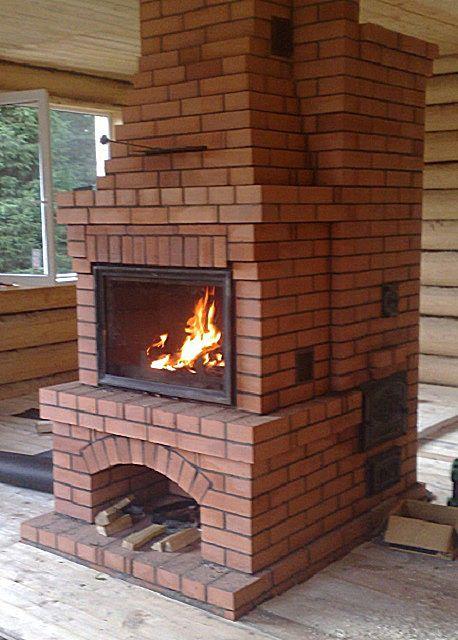 オーブン暖炉