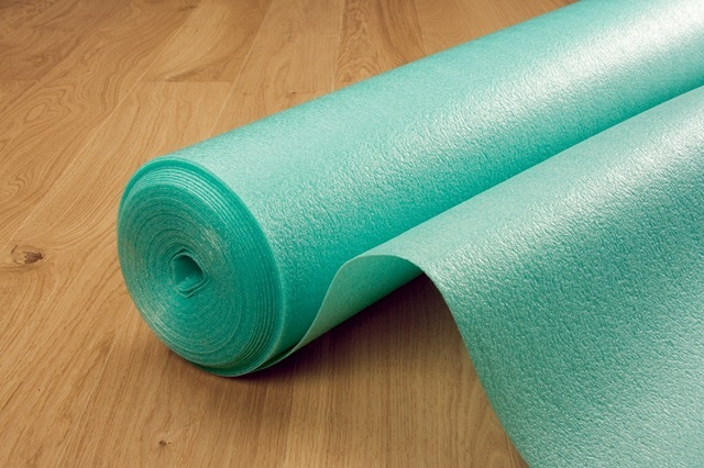 Geschäumtes Polyethylen, das als elastisches Substrat verwendet wird.