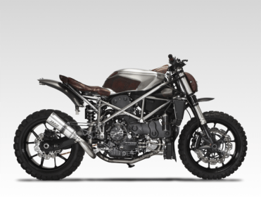 Custom Bike of the Day: HELL FOR LEATHER – Ducati 749 'Arriera'