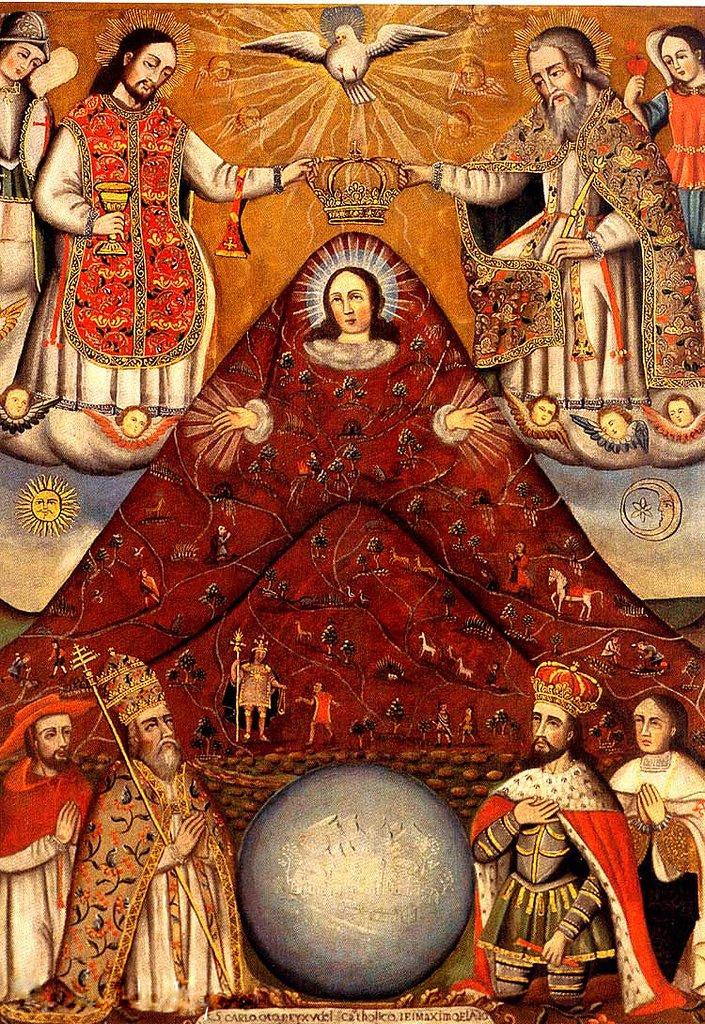 La Virgen Del Cerro Tour Du Monde