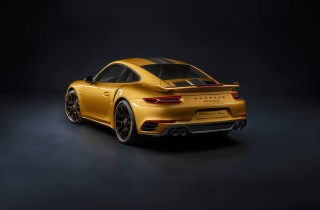 Porsche-911-Turbo-S-Exclusive-Series-Rear-