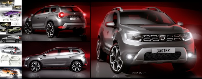 2017 – Genèse Design Nouveau Dacia DUSTER
