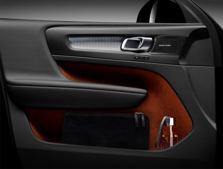 New Volvo XC40 – interior