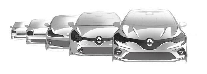 2019 – Genèse design Nouvelle Renault CLIO