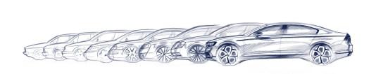 The new Volkswagen Passat generations 1 – 8