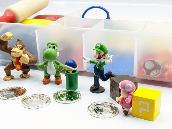 SuperMario Figures Donkey Kong Playdough Kit
