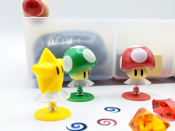 Super Mario Toad Playdough Kit