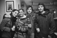 Fernanda Vidal, Raquel, Francisco Pino y Roberto Iglesias