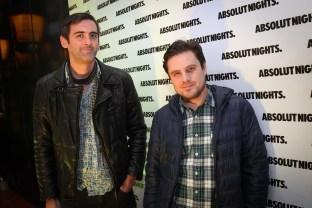 Rodrigo Loehnert y Andres meza