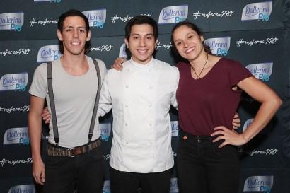 Raul Pantoja, Daniel Matthies y Daniela Omegna