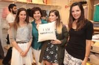 Catalina Dominguez, Fernanda Zamora, Macarena Jimenez y Giselle Sateler