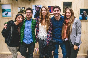 Sandra Cofré, Emmanuel Rojas, Ignacia Pérez, Cristóbal Donoso, María José Soza