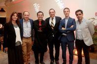 Alejandra Ugalde, Miguel Ángel García, Jesús Parra, Jorge Kassis, Esteban Escuer y Felipe Torrealba
