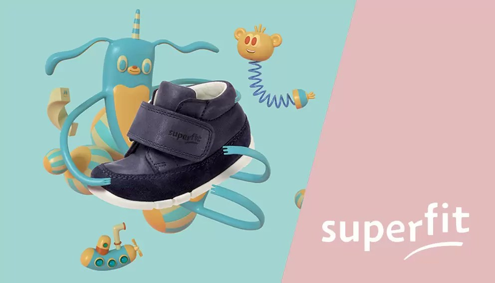 Superfit children's footwear