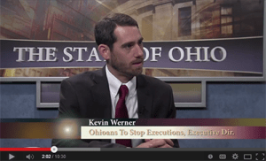 "Watch: Executive Director of Ohioans to Stop Executions Featured on ""The State of Ohio"""