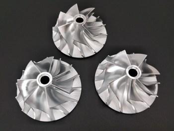 custom compressor wheel