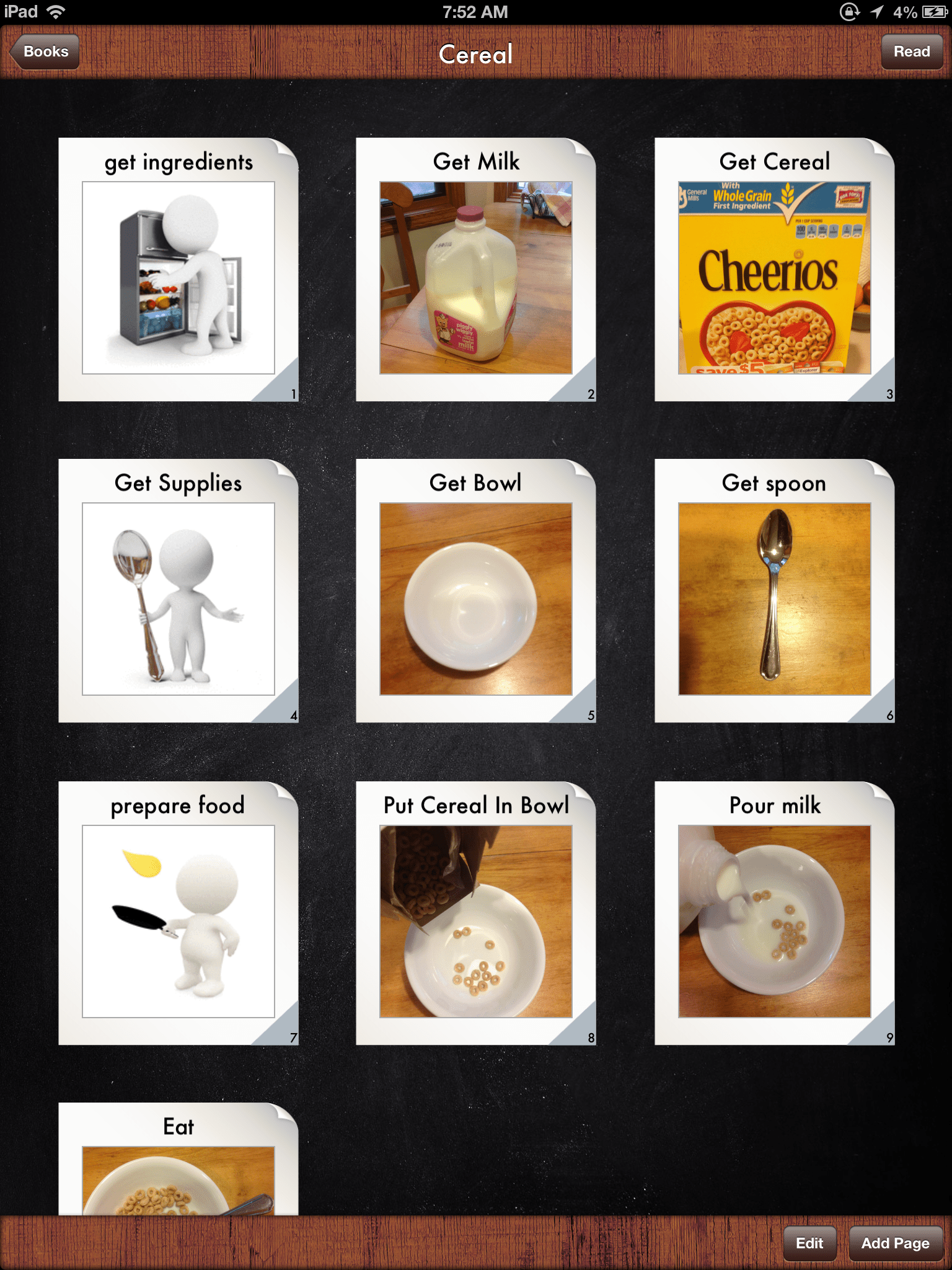 Iget It Cooking Vocabulary And Create Recipe Photo