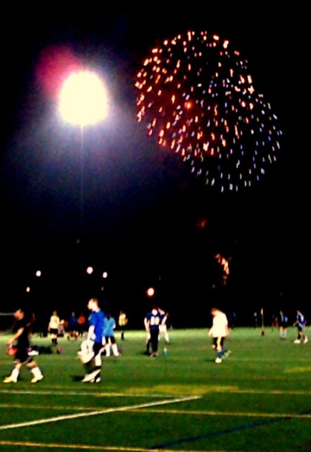 Sunday League Fireworks