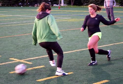 Ottawa footy sevens at Carleton University