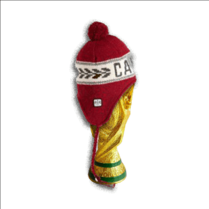 World cup trophy with toque