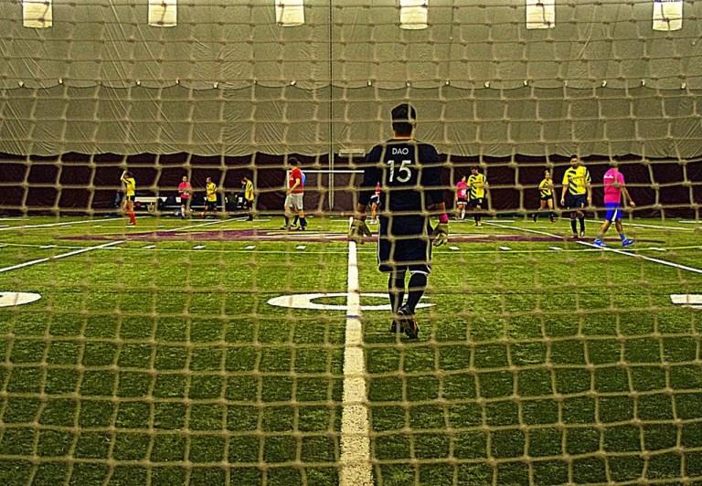 Ottawa Footy Sevens fall league at Ottawa University Lees Dome