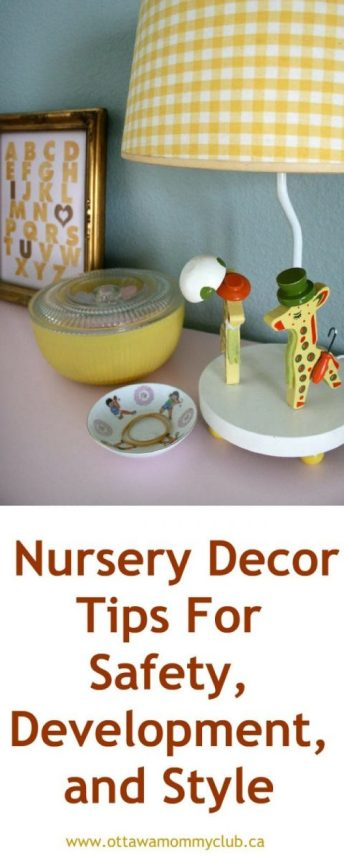 Nursery Decor Tips For Safety, Development, and Style